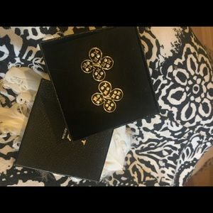 Louis Vuitton signed House of Cards earrings